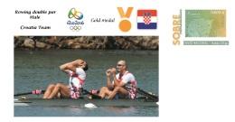 Spain 2016 - Olympic Games Rio 2016 - Gold Medal Rowing Male Croatia Cover - Juegos Olímpicos