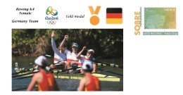 Spain 2016 - Olympic Games Rio 2016 - Gold Medal Rowing Female Germany Cover - Juegos Olímpicos