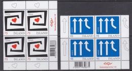 Europa Cept 2006 Iceland 2v Bl Of 4 ** Mnh (31713) - 2006