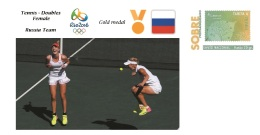 Spain 2016 - Olympic Games Rio 2016 - Gold Medal Tennis Female RUSSIA Cover - Juegos Olímpicos