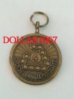 .medal - Medaille - NO  4 Drentse Rijwielvierdaagse - Netherland