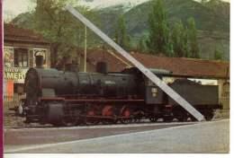 Locomotiva A Vapore Gr.422.009 Italgas Funivie - Savona San Giuseppe - Gares - Avec Trains