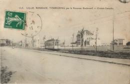 59 LILLE  ROUBAIX TOURCOING PAR LE NOUVEAU BOULEVARD - CROISE LAROCHE ( TRAMWAY ) - Lille
