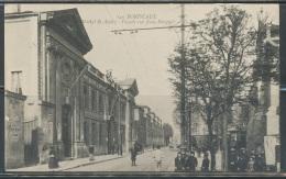 CPA - BORDEAUX - Hôpital Saint-André - Façade Rue Jean-Burguet - Bordeaux