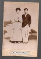 (Nérac Lot Et Garonne) Photo D'un Couple Par BONHOTAL (PPP3833) - Anonymous Persons