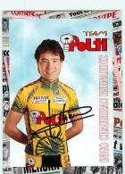 Inigo CHAURREAU BERNARDEZ, Autographe Manuscrit, Dédicace .  2 Scans. Cyclisme. Polti - Cyclisme