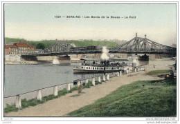SERAING ..-- LIEGE ..-- Les Bords De La Meuse Et Le Pont . - Liege