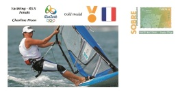 Spain 2016 - Olympic Games Rio 2016 - Gold Medal Yachting Female France Cover - Juegos Olímpicos