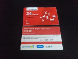 Ticket Bus AMSTERDAM 24 H - Europe