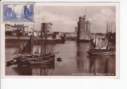 Carte Maximum FRANCE  N°Yvert  261 (La Rochelle - Type II) Obl 1934 Peu Lisible, édition Anc Lévy Et Neurdein - Maximum Cards