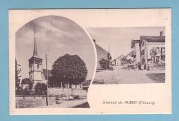 Fribourg, SOUVENIR De MURIST, DORFPARTIE, KIRCHE - FR Fribourg