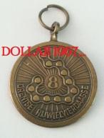 .medal - Medaille - NO  8  Drentse Rijwielvierdaagse - Unclassified