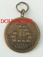 .medal - Medaille - NO  8  Drentse Rijwielvierdaagse - Netherland
