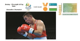 Spain 2016 - Olympic Games Rio 2016 - Gold Medal - Boxing Male Uzbekistan Cover - Juegos Olímpicos