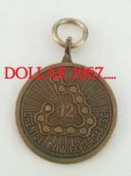 .medal - Medaille - NO  12  Drentse Rijwielvierdaagse - Unclassified