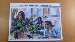 ALTE KAUGUMMI SAMMELBILDER COLLECTION NAPOLEON 12 CHEWING GUM CANDY - FRANCE - Alte Papiere
