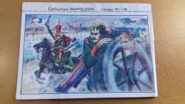 ALTE KAUGUMMI SAMMELBILDER COLLECTION NAPOLEON 18 CHEWING GUM CANDY - FRANCE - Alte Papiere