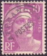 France Préoblitéré N° 102 ** Marianne De Gandon 10fr Lilas - 1953-1960