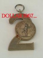 .medal - Medaille - Ritmische Gymnastiek Turnen 1977 -Eerbeek - Unclassified