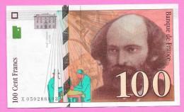 Billet De 100 Fr - CEZANNE - 1997 - - 1992-2000 Dernière Gamme