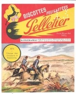 BUVARD - BISCOTTES PELLETIER - 1870 Charge Des Chasseurs à Rezonville - Zwieback