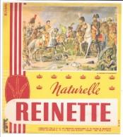 BUVARD - BISCOTTES NATURELLE REINETTE - La Bataille D´Austerlitz - Zwieback