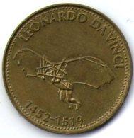 2987 Vz Leonardo Da Vinci 1452-1519 - Kz Shell - Jetons & Médailles