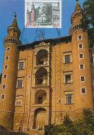 D25148 CARTE MAXIMUM CARD 1982 ITALY - PALAZZO DUCALE CP ORIGINAL - Architecture