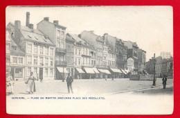 Verviers. Place Du Martyr. Hôtel Aigle Noir. Café Du Musée Spadois. Café Au Cyprès. Aux économes. Ca1900 - Verviers