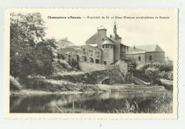 Chassepierre S/Semois   *  Propriété De M. Et Mme Wanson Surplombant La Semois - Chassepierre
