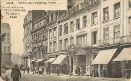 59 LILLE - ISOUVENIR DE LA MAISON THIERY ET SIGRAND VETEMENTS - PLACE DU VIEUX MARCHE AUX POULETS - Lille