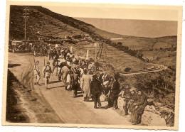 Guerre  Espagne Sur La Route De CERBERE , Réfugiés , Voiture - Francia