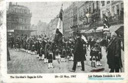 59 LILLE - LES ENFANTS ECOSSAIS A LILLE 1907 - Lille