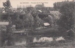 G , Cp , 18 , BOURGES , Vue Prise Des Bords De L'Yèvre - Bourges