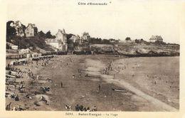 Saint-Enogat (Côte D'Emeraude) - La Plage - Edition Laurent Nel - Carte Non Circulée - Autres Communes