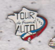 Pin's  TOUR DE FRANCE AUTO 1992 - Rallye