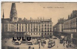 DEPT 44 : Nantes , La Place Royale - Nantes