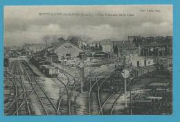 CPA Chemin De Fer Trains Vue Générale De La Gare MONTCHANIN LES MINES 71 - France