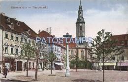 54926 GERMANY GROSSENHAIN DRESDE MAIN MARKET POSTAL POSTCARD - Non Classés