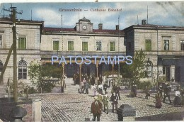 54927 GERMANY GROSSENHAIN DRESDE COTTBUS TRAIN STATION  POSTAL POSTCARD - Non Classés
