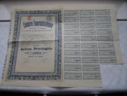 Linière TOURNAISIENNE N° 000917 ( Zie Foto Voor Details ) ! - Actions & Titres