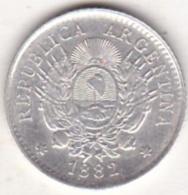 ARGENTINE / TUCUMAN . 10 CENTAVOS 1882. ARGENT - Argentine