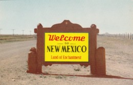 New Mexico Map Welcome Marker - Maps