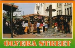 California Los Angeles Olvera Street Wooden Cross And Markets - Markets