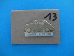 "PIN´S - RENAULT ""  4CV   1947 - Voir Photo ( 13 ) - Renault"
