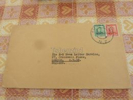 Auckland New Zealand London England Kuvert Envelope - New Zealand