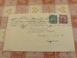 Durban South Africa Suid Afrika London England Kuvert Envelope - Afrique Du Sud (1961-...)