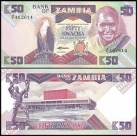 Zambia 50 KWACHA ND (1986-88) P 28 UNC   ZAMBIE - Zambie