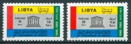 1967 Libia Libya 20th Anniversary Of UNESCO MNH** - Libië