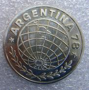 Argentinie, 3000 Pesos, 1978, WK Voetbal, Zilver .900 UNC - Argentine